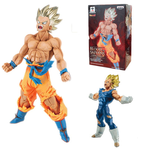 Super Saiyan Goku / Majin Vegeta Dragon Ball Z Figurine 18CM