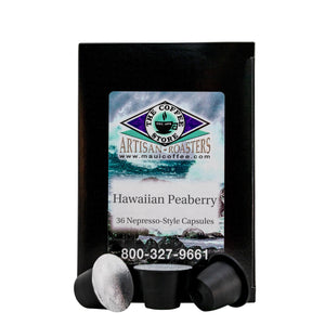 Hawaiian Peaberry Pods