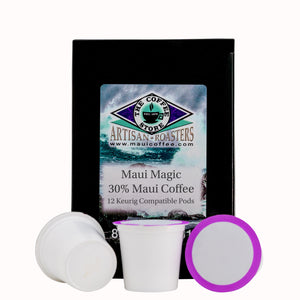 Maui Magic - 30% Maui Coffee Pods