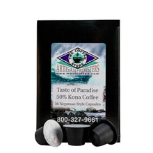 Load image into Gallery viewer, Taste of Paradise - 50% Kona Coffee Pods