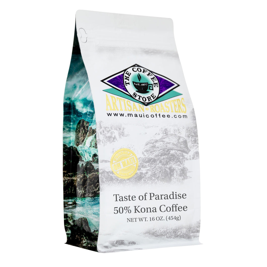 Taste of Paradise - 50% Kona Coffee
