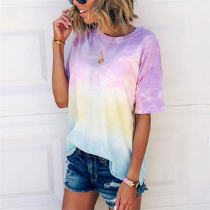 Oversized tie-dye Tee (+More Colors)