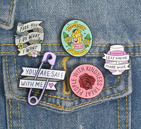 Feminist Power Pins