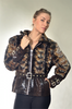 SCULPTURED MINK FUR JACKET [GR-111]