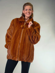 MINK FUR JACKET [M-100]
