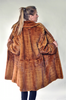 WHISKEY MINK FUR STROLLER [NC-27]