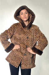 DEMI SHEARED MINK FUR JACKET [T-215]