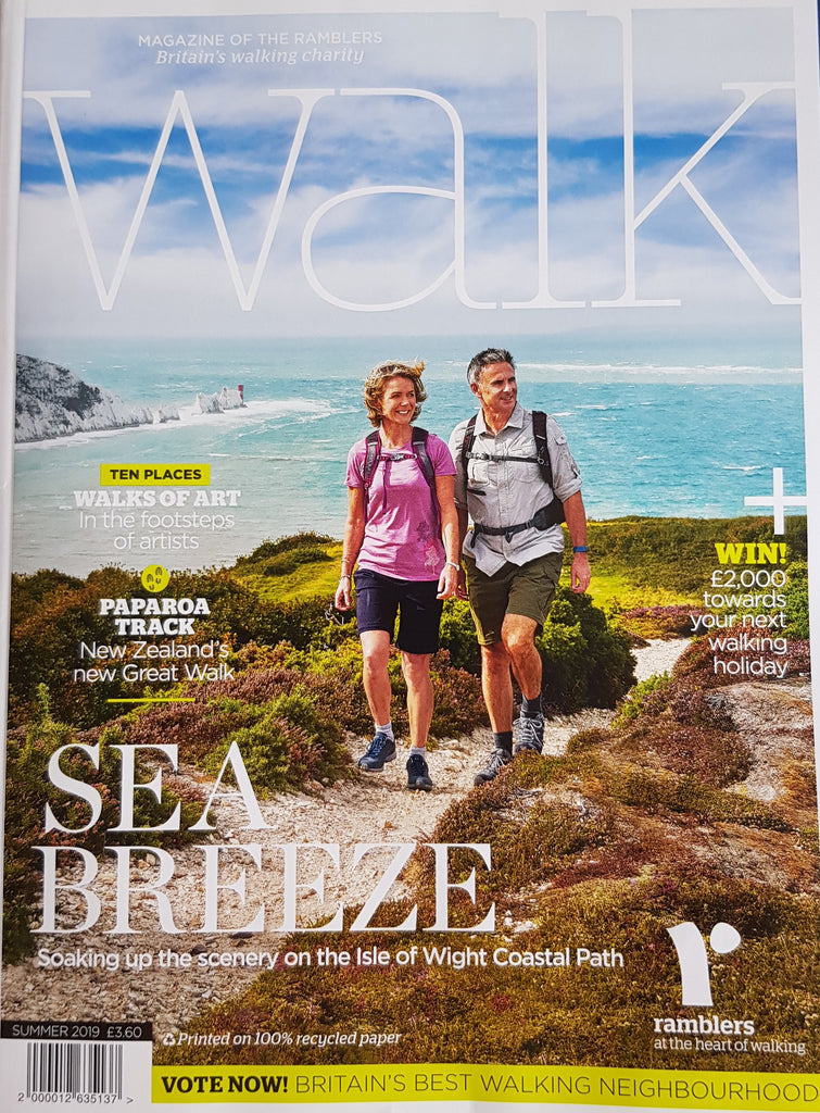 "Latest Edition of The Ramblers' ""Walk"" Magazine"