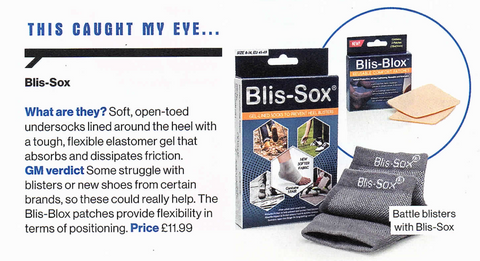 golf monthly product review - blister prevention