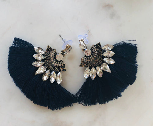 The Audrey Tassel Earrings