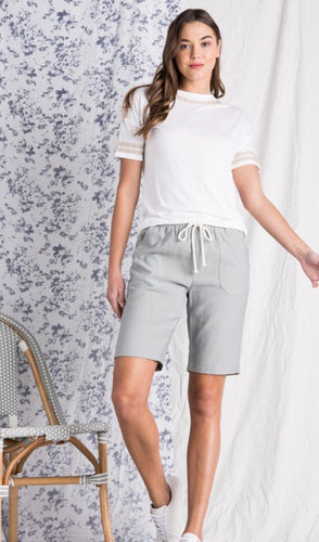 The Aubrey Corduroy Bermuda Shorts in 2 colors