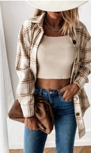 The Rigby Plaid in Tan