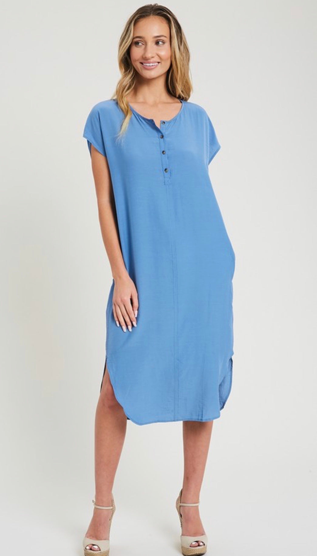 The Dana Dress in Chambray