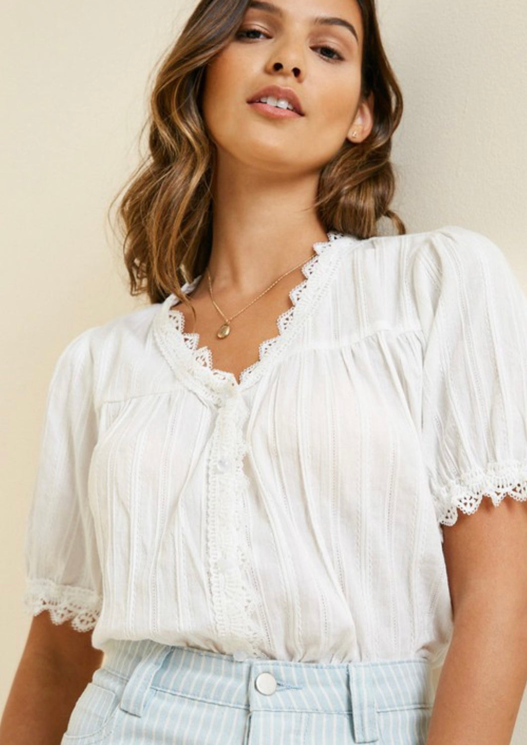 The Laura Lace Top