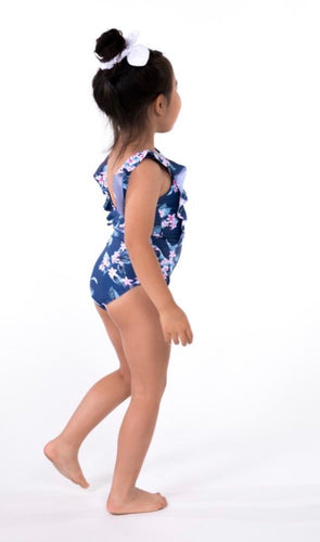 The Beach Day Floral Swimsuit for Girls