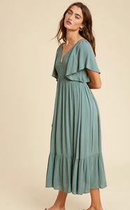 The Jemma Dress in Teal