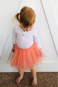 The Lindy Tulle Tutu in Pink