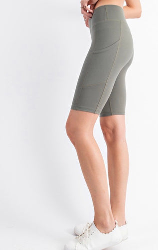 Rae Exercise Biker Shorts in Multiple Colors