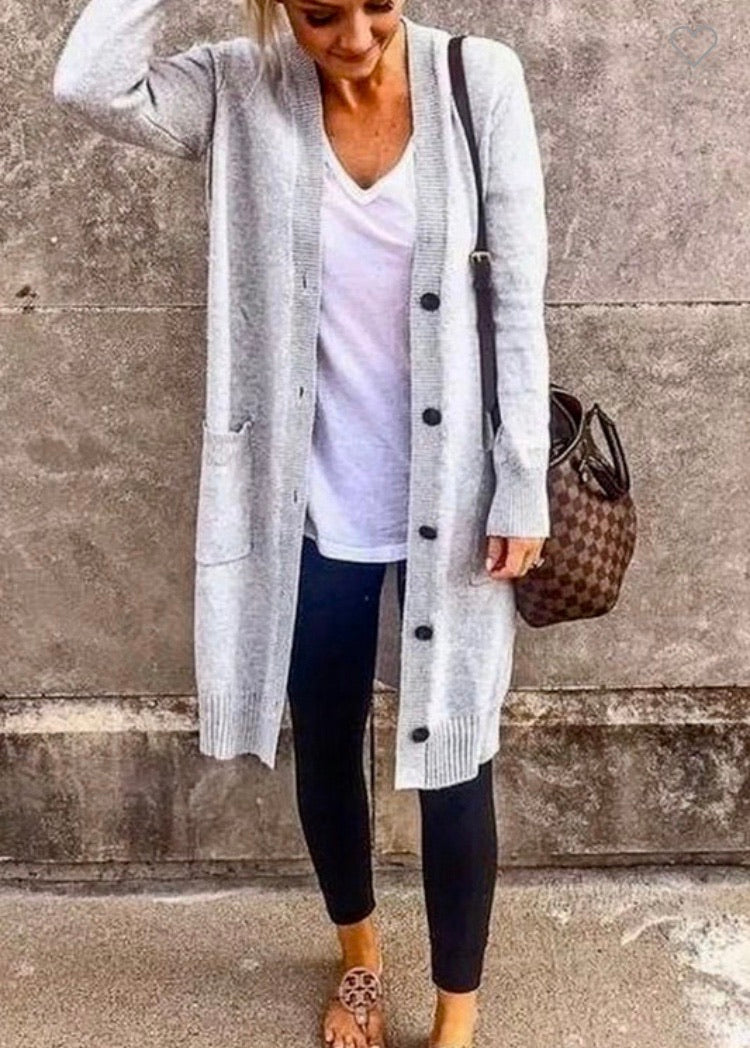 The Ava Duster Cardigan