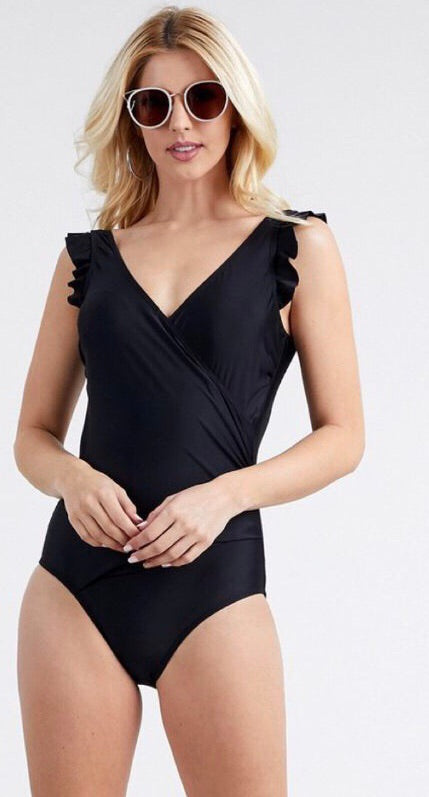 The Timeless One Piece in Black