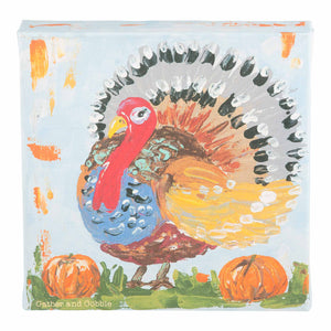 Gather and Gobble Turkey Canvas