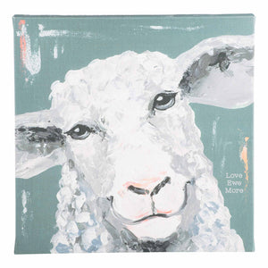 Love Ewe More Sheep Canvas