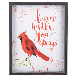 I am With You Red Bird