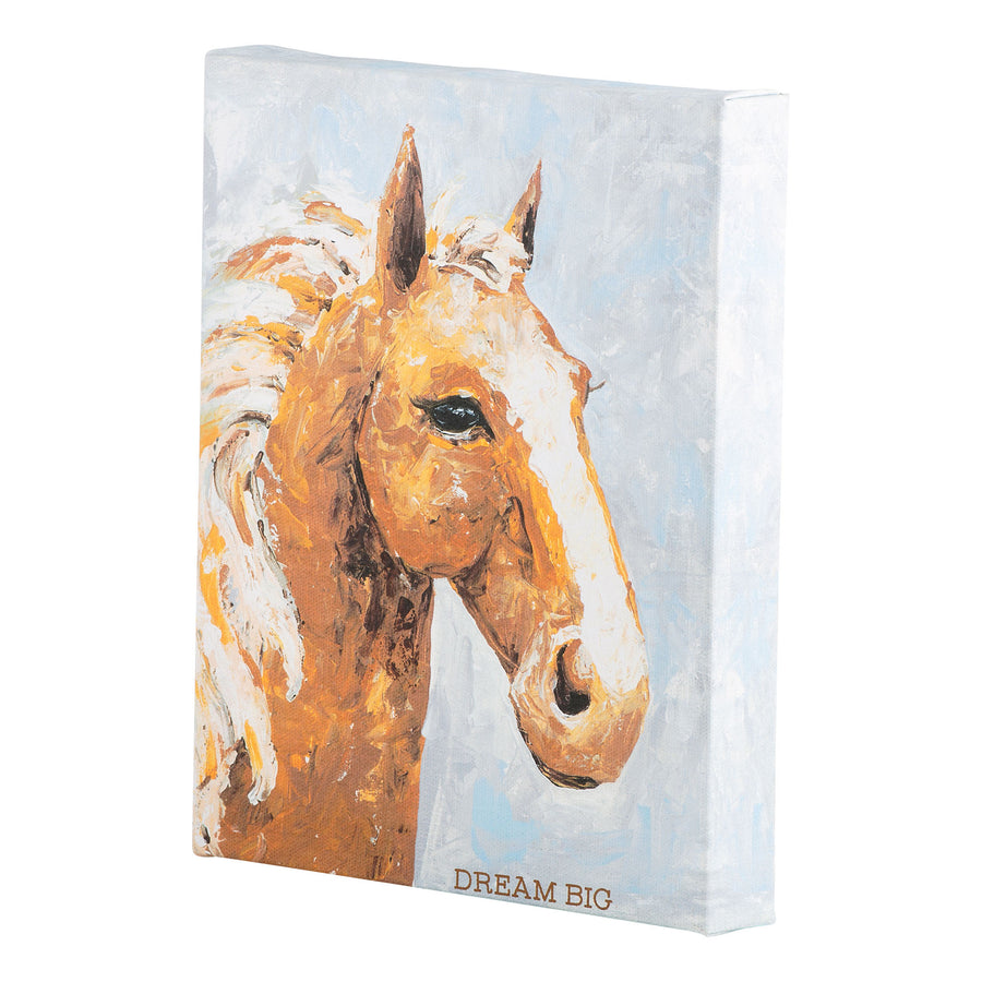 Dream Big Horse Canvas