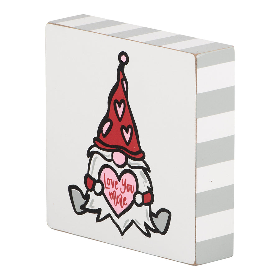 Gnome Heart Block Canvas