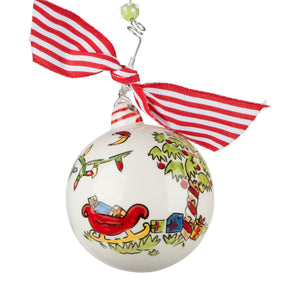 South Carolina Palmetto Christmas Ornament