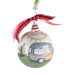 Life is Adventure Camper Ornament