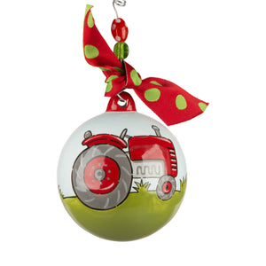 Red Tractor Ornament