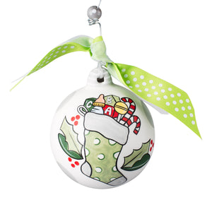 Stocking Baby's 1st Christmas Ornament