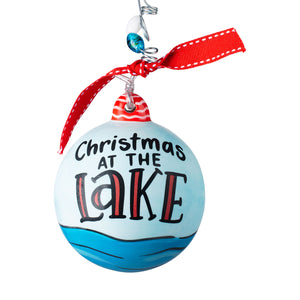 Christmas at the Lake Ornament