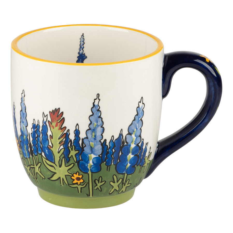 Texas Wildflower Mug