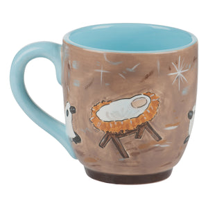 Nativity with Animals Mug