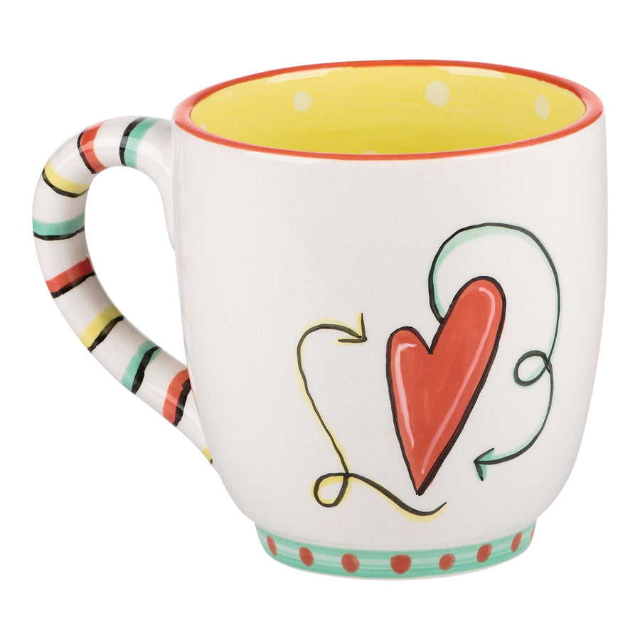 You are my Person Heart Mug