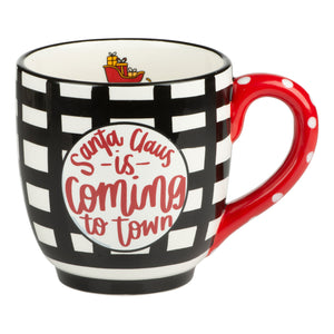 Santa Claus is Coming to Town Mug