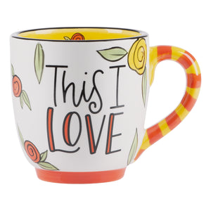 Jesus Knows Me this I Love Mug