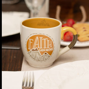 Faith can Move Mountains Mug