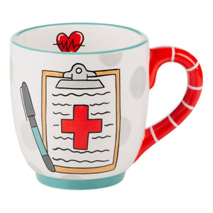 Nurse Off the Charts Mug