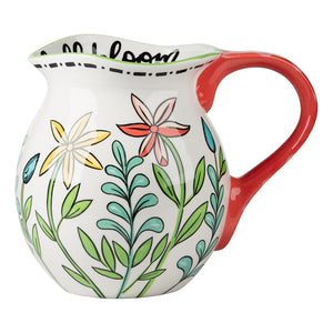 Life in Full Bloom Pitcher