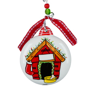 Happy Howlidays Puff Ornament