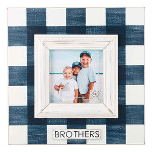 Brothers Plaid Frame