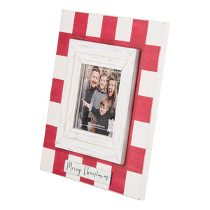 Merry Christmas Red Plaid Frame