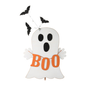 Boo Ghost and Bats Topper