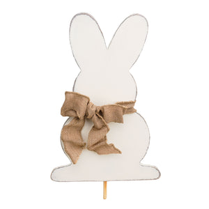 Bunny Wood Topper
