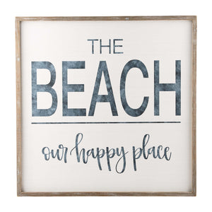 Beach is our Happy Place Board