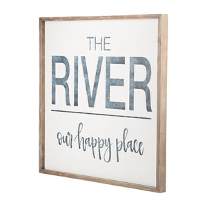 River is our Happy Place Board