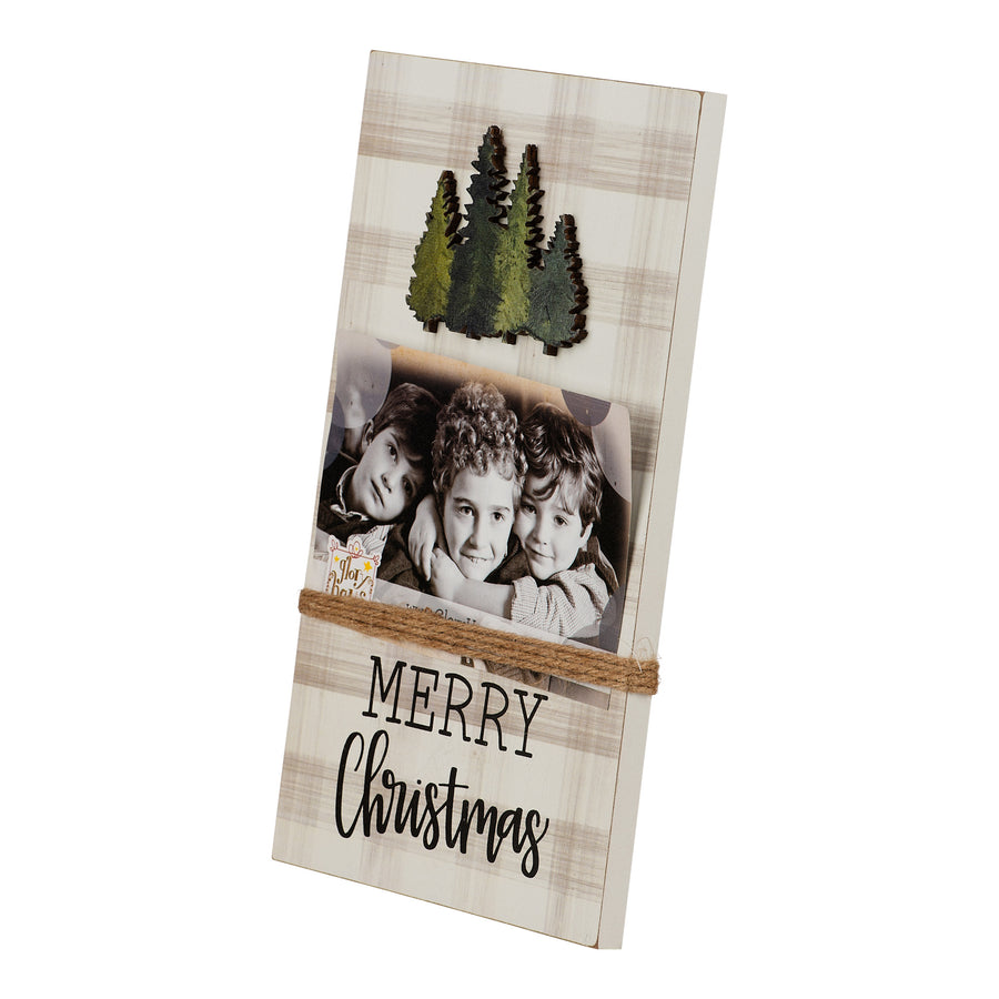 Merry Christmas Trees Twine Frame